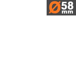 Ø58mm