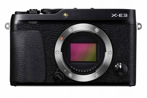 Fujifilm X-E3 Kamerahus Sort