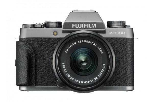 Fujifilm X-T100 + XC15-45mm OIS PZ Mørk Sølv