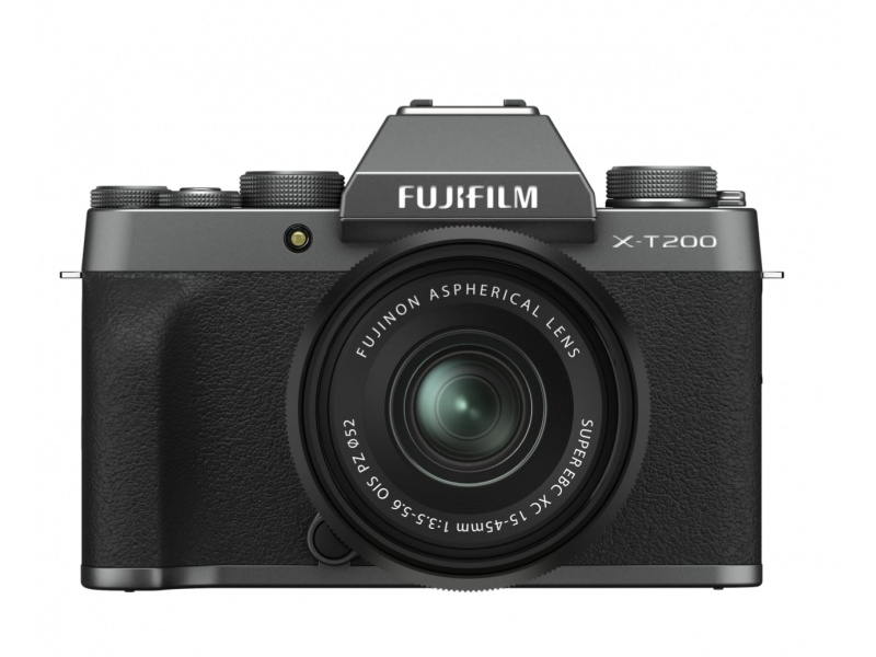 Fujifilm X-T200 Dark Silver Kit med XC 15-45mm F3.5-5.6