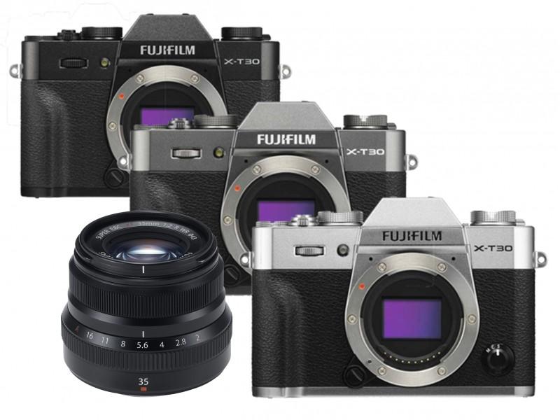 Fujifilm X-T30 Body + xf 35mm f/2.0