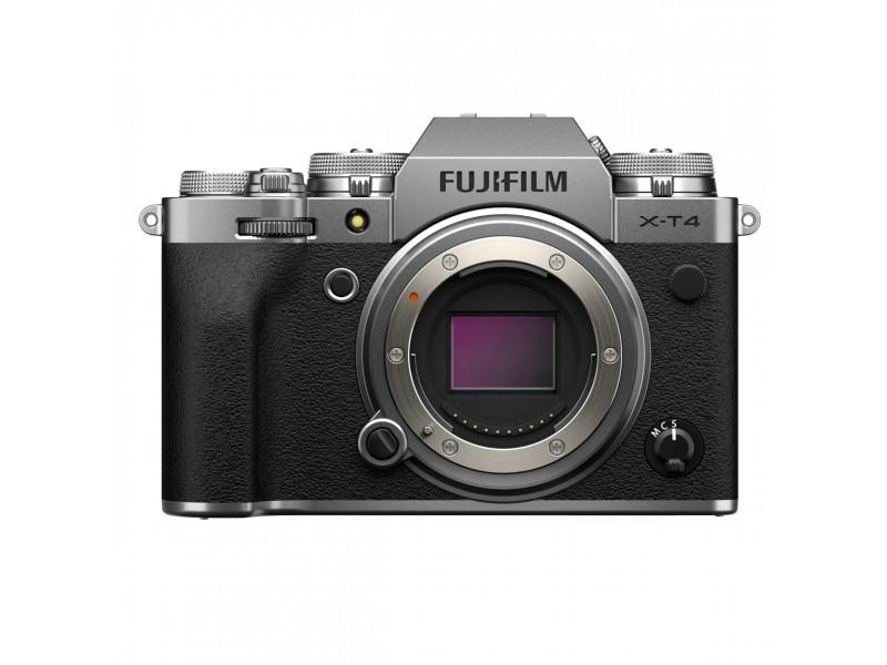 Fujifilm X-T4 Kamerahus Sølv