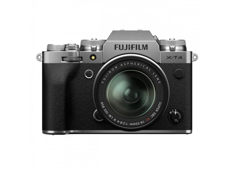 Fujifilm X-T4 + 18-55mm Kit Sølv