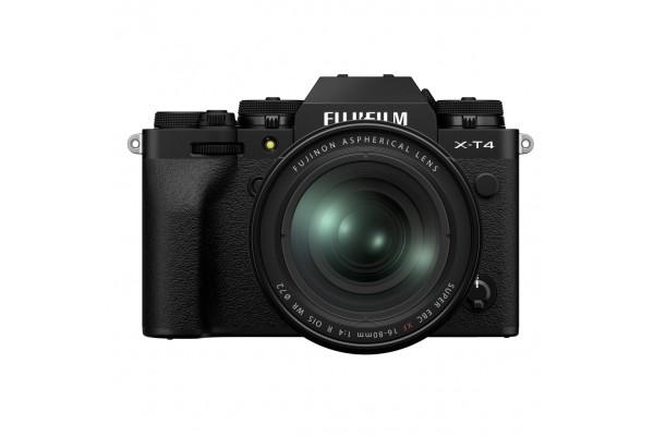 Fujifilm X-T4 + 16-80mm Kit Sort