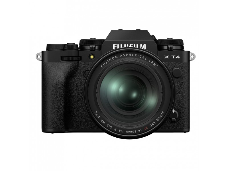 Fujifilm X-T4 + 16-80mm Kit Sort