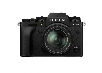 Fujifilm X-T4 + 18-55mm Kit Sort