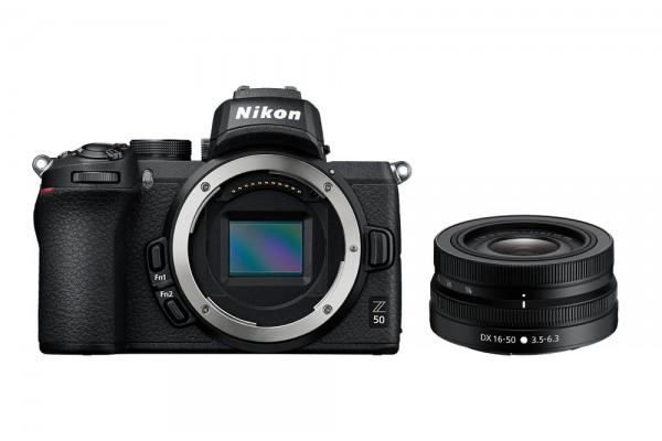 Nikon Z50 + 16-50mm f/3,5-6,3 + FTZ Kit