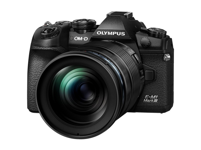 Olympus OM-D E-M1 Mark III + ED 12-100mm F4 IS Pro (Sort)