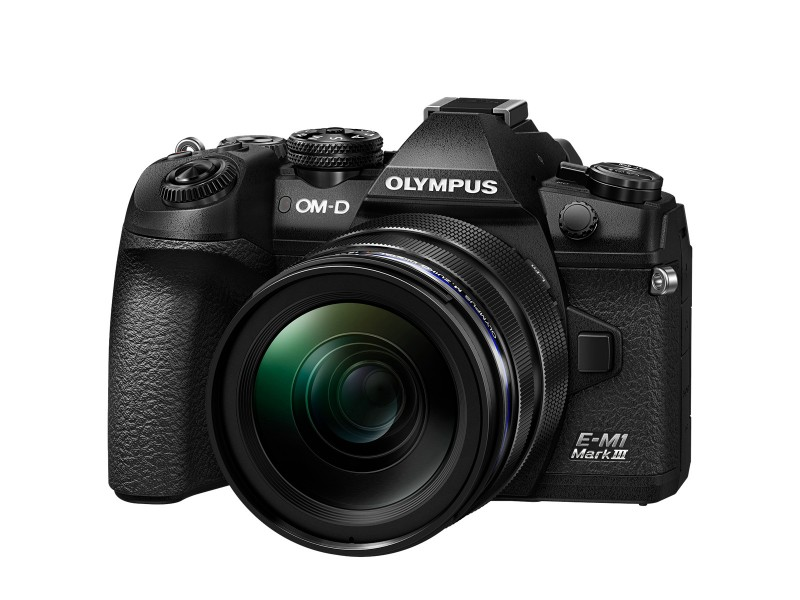 Olympus OM-D E-M1 Mk. III + 1240mm kit Sort/Sort