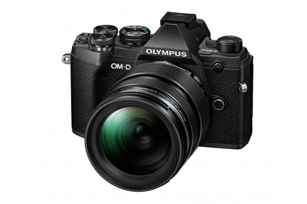 Olympus E-M5 mk. III 12-40mm PRO Kit Sort