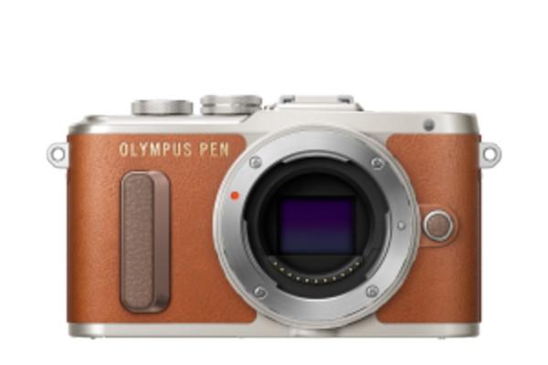 Olympus E-PL9 Kamerahus Brun