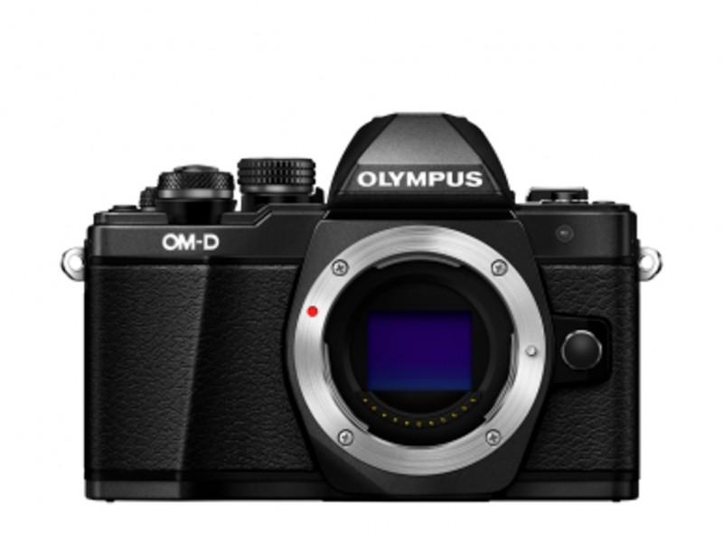 Olympus E-M10II Kamerahus Sort