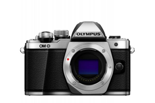 Olympus E-M10II Kamerahus Sølv