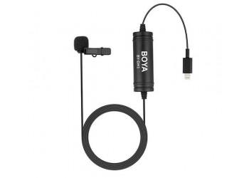 Boya BY-DM1 klemme-mikrofon til iPhone/iPad