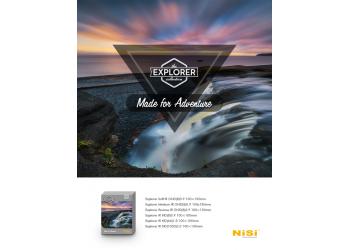 NiSi Square Filter Explorer 100x100mm IRND 8 - 3 Stop